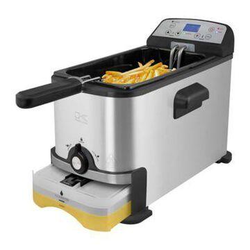 Kalorik Digital Deep Fryer with Oil Filter, FT 44247 BK