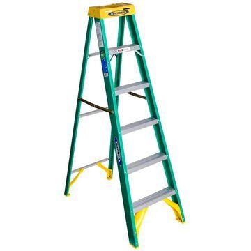 Werner 5906 6' Fiberglass Step Ladder