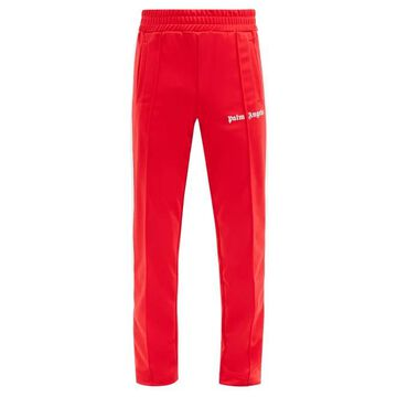 Palm Angels - Logo-print Jersey Track Pants - Mens - Red