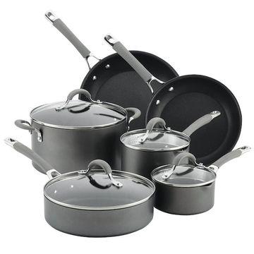 Circulon Elementum Hard-Anodized 10-piece Nonstick Cookware Set