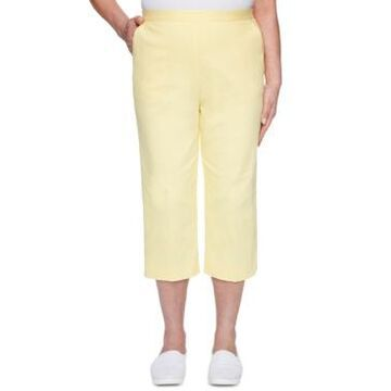 Alfred Dunner Spring Lake Pull-On Stretch Capris