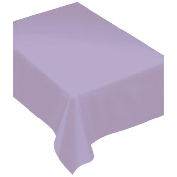 Amscan Lavender 60-in. x 80-in. Fabric Table Cover in Purple