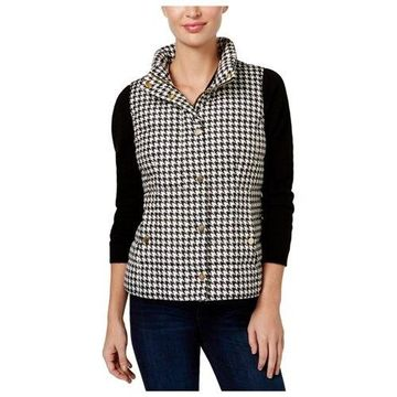 Charter Club Womens Printed Quilted Vest