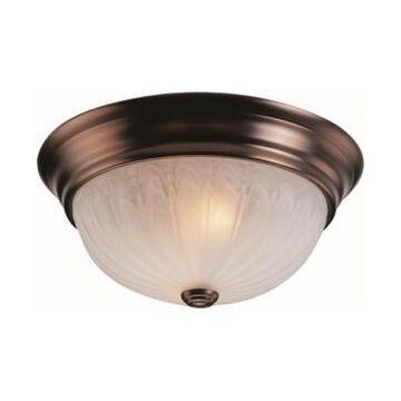 Volume Lighting Marti 2-Light Flush Mount Ceiling Fixture