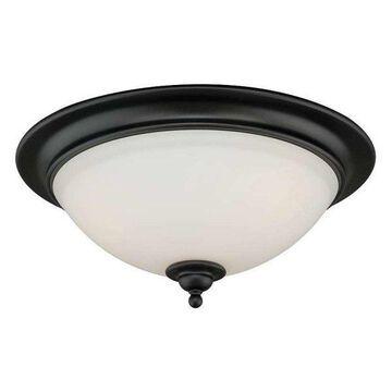 Vaxcel Lighting C0083 Grafton 3 Light Flush Mount Indoor Ceiling Light