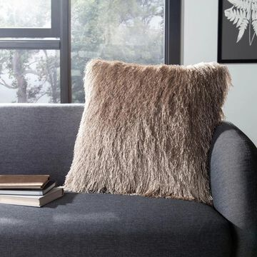 Safavieh Indoor/Outdoor Shag Decorative Pillow
