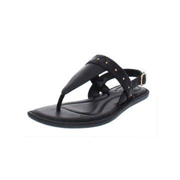 Born Womens Garren Thong Sandals Leather Slingback