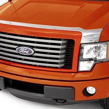 2019 Ford Explorer AVS Chrome Aeroskin Hood Protector