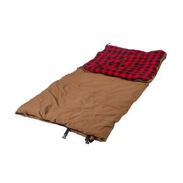 Stansport Stansport 6 -lbs Grizzly Sleeping Bag Cotton in Brown