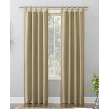 Sun Zero Preston Blackout Tab Top Curtain Panel, 40
