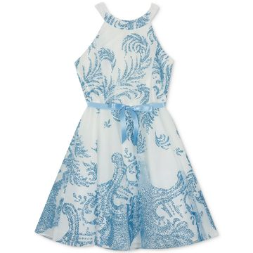 Big Girls Fit & Flare Dress