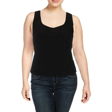 Alex Evenings Womens Plus Tank Top Knit Sleeveless - 1X