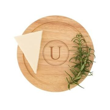 Cathy's Concepts Personalized Gourmet 5-Pc. Cheese Board Set with Utensils