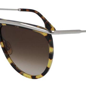 Victoria Beckham VB155S 214 Womenas Sunglasses Tortoiseshell Size 60