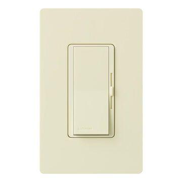 Lutron Diva Single-Pole/3-Way Almond Rocker Light Dimmer | DVELV-303P-AL