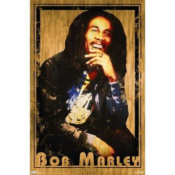Trends International Bob Marley Retro Wall Poster 22.375