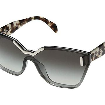 Prada 0PR 16TS (Light Grey/Grey Gradient) Fashion Sunglasses