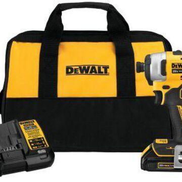 DeWALT 20V MAX Atomic Brushless Impact Driver, 1-Battery, DCF809C1