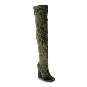 Olivia Miller Hempstead Women's Velvet Over-The-Knee Boots
