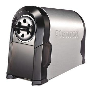 BOSTITCH EPS14HC Electric Pencil Sharpener,Black,Silver