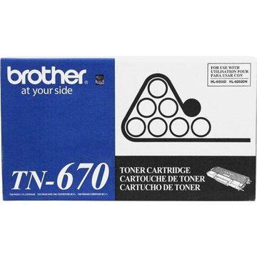 Brother TN670 High-Yield Toner, Black
