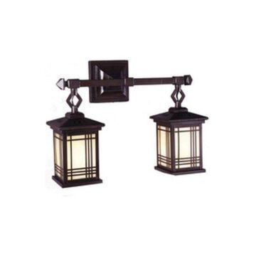 Dale Tiffany Avery, Two Light Wall Sconce