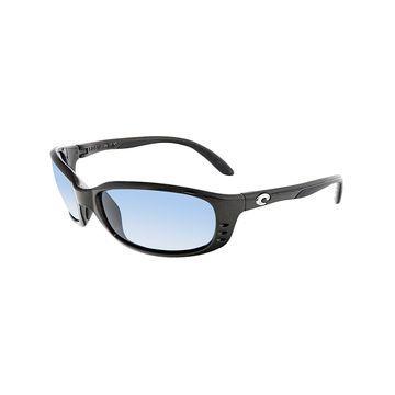 Costa Del Mar Polarized Brine BR22OGP Grey Rectangle Sunglasses