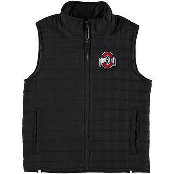 Ohio State Buckeyes Youth Porter Ripstop Full-Zip Vest - Black
