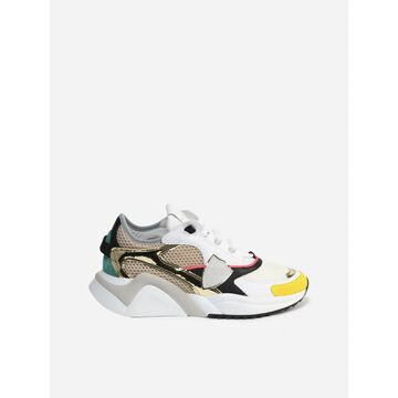Philippe Model Eze Sneakers In Leather And Fabric