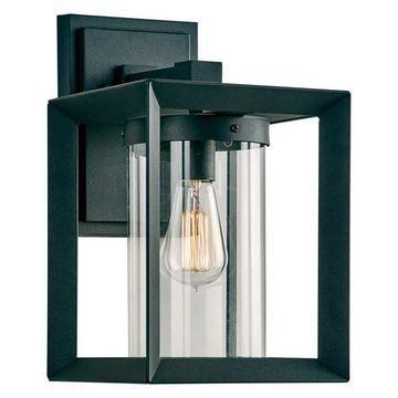 PLC-Lighting 2913BK Sullivan Collection Light Exterior, Black Finish