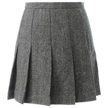 Apc \N Anthracite Wool Skirts