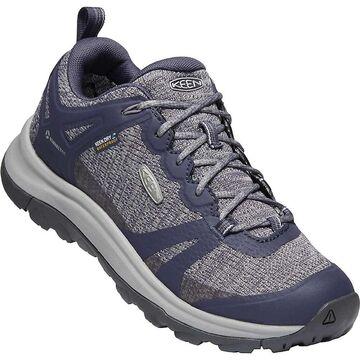 KEEN Women's Terradora 2 Low Height Waterproof Hiking Shoes - 8.5 - Greystone / Shark