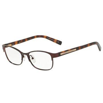 Armani Exchange AX1010 6001 53 Brown Womens Oval Eyeglasses