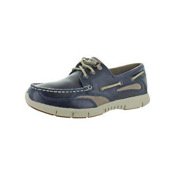Sebago Mens Clovehitch Boat Shoes Leather EVA