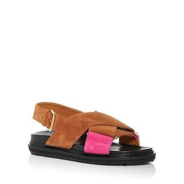 Marni Women's Fussbett Color Block Slingback Sandals