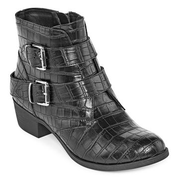 a.n.a Womens Afra Motorcycle Boots