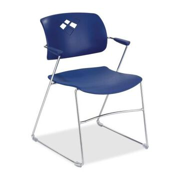 Safco Veer Flex Back Stack Chair with Arm