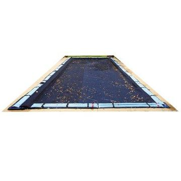 Blue Wave Rectangular Leaf Net Cover for In-Ground Pool
