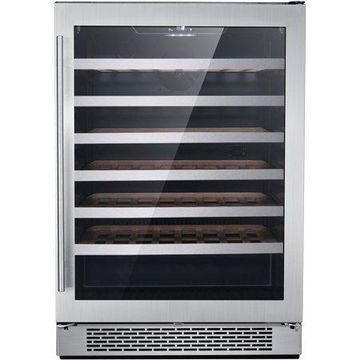 Hanover Studio Series 24-In. Single Zone Wine Cooler with 54-Bottle Capacity and Reversible Door Hinge