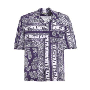 Aries Bandana Print Hawaiian Shirt
