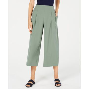 Pleated Cropped Trousers, Created for Macy's