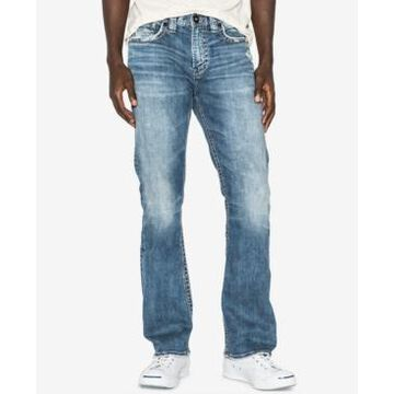 Silver Jeans Co. Men's Craig Easy Fit Bootcut Stretch Jeans