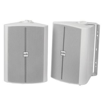 Polk Audio OS70W 2-Way Indoor/Outdor Speakers - White