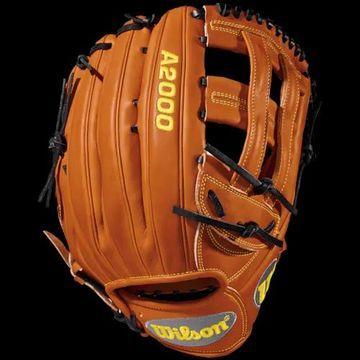 Wilson A2000 1799 Fielder's Glove - Orange Tan / Black