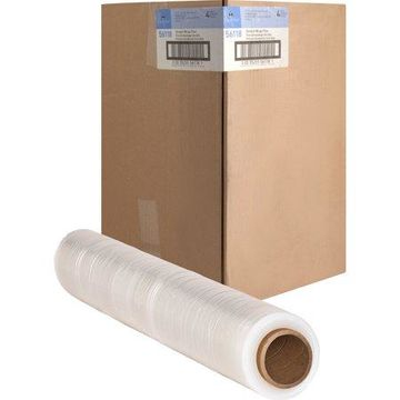 Sparco, SPR56118, Medium Weight Stretch Wrap Film, 4 / Carton, Clear