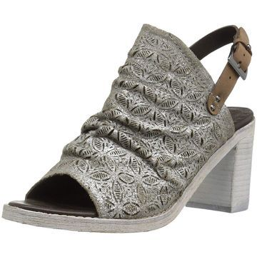 Naughty Monkey Womens Nyxx Leather Open Toe Special Occasion Mule Sandals