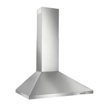 Broan 30-in Convertible Stainless Steel Wall-Mounted Range Hood (Common: 30 Inch; Actual: 29.528-in)