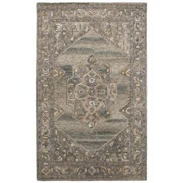 Amer Rugs Veatricia Erica 5' X 7'6 Area Rug In Brown