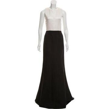 Sleeveless Evening Dress Black