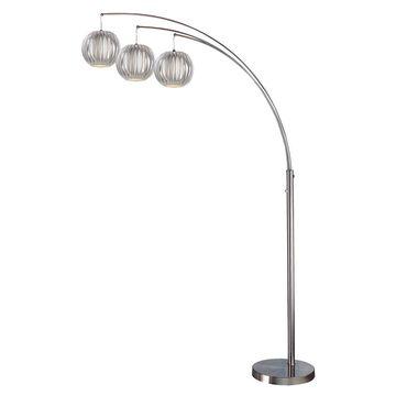 Lite Source 3-Light Deion Floor Arch Lamp